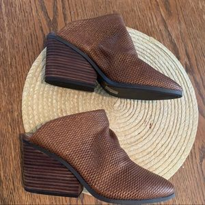 Lucky Brand LK-Larsson Copper Brown Classy Mules